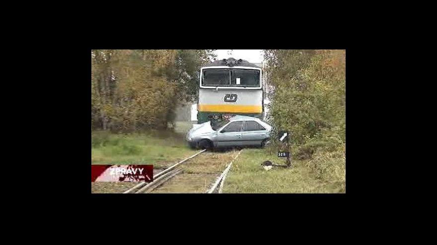 Video Tragická bilance nehod na železnici