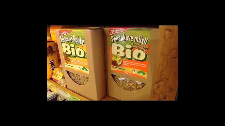 Video Krize přibrzdila biopotraviny