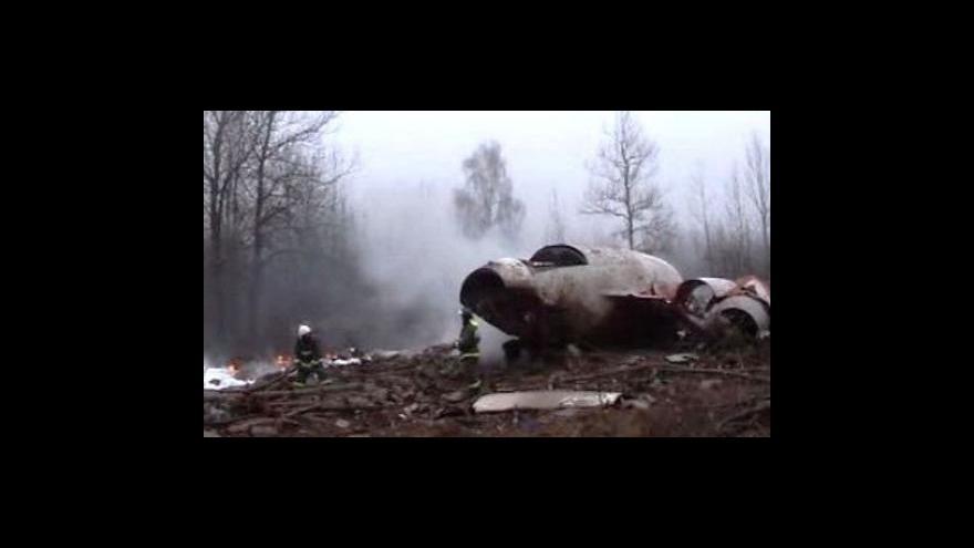 Video NO COMMENT: Katastrofa polského letadla