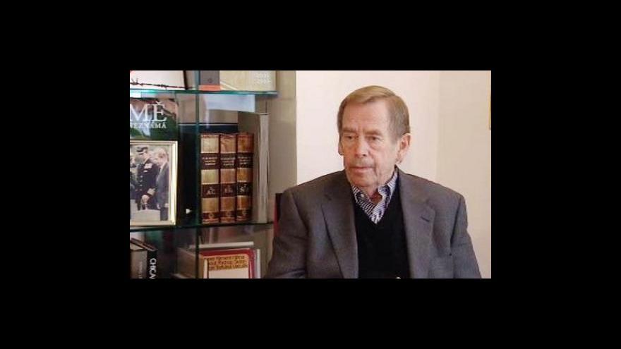 Video Rozhovor s Václavem Havlem