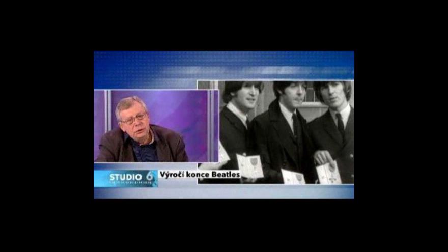 Video Antonín Matzner o Beatles