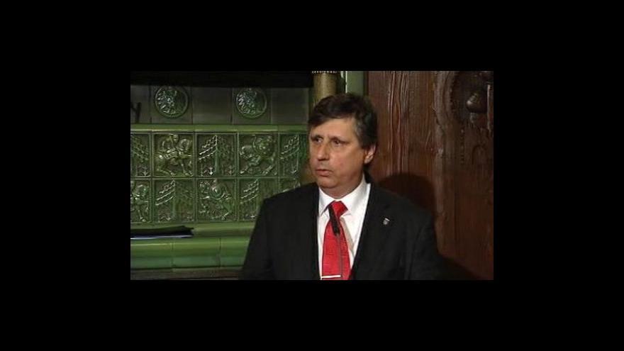 Video Brífink Jana Fischera po jednání Obamy s evropskými státníky