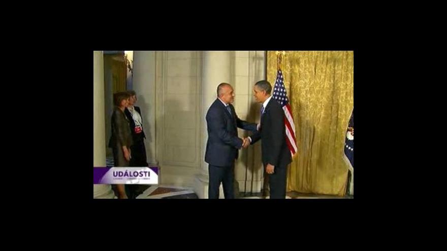 Video Jednání Obama-středovýchodní region