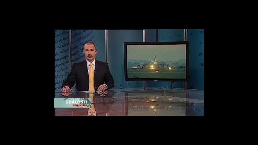 Video Události, komentáře o návštěvě Dmitrije Medvěděva