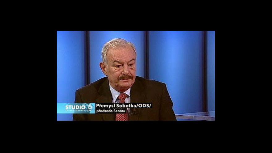 Video Rozhovor s Přemyslem Sobotkou