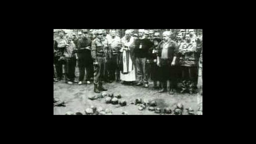 Video Před polednem k výročí katyňského masakru
