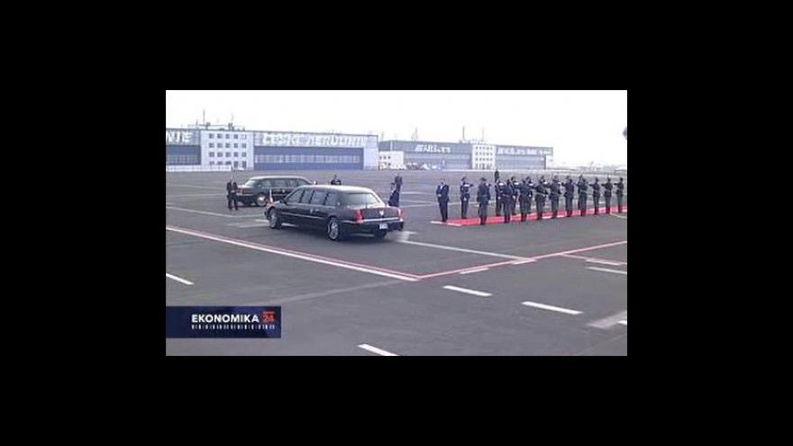 Video Kolik bude stát návštěva obou prezidentů?