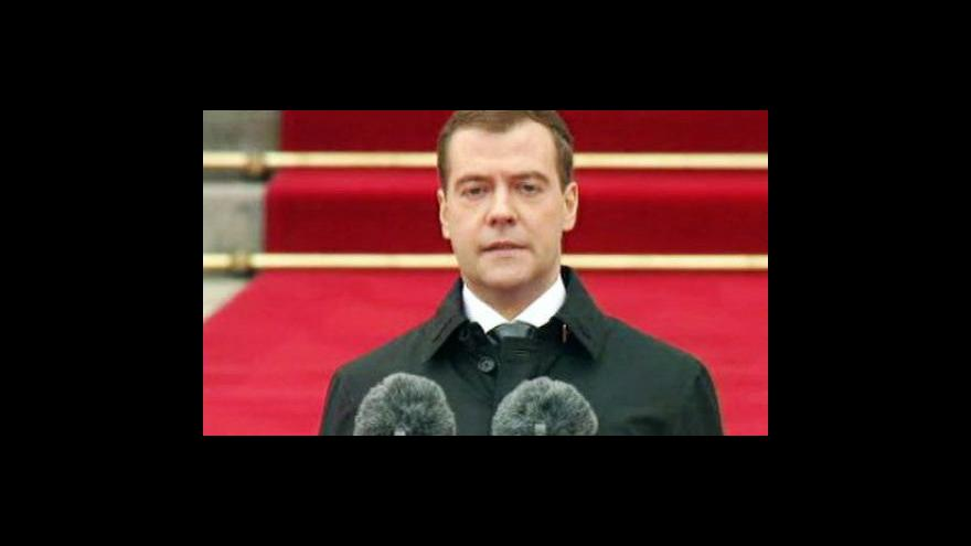 Video Profil Dmitrije Medvěděva