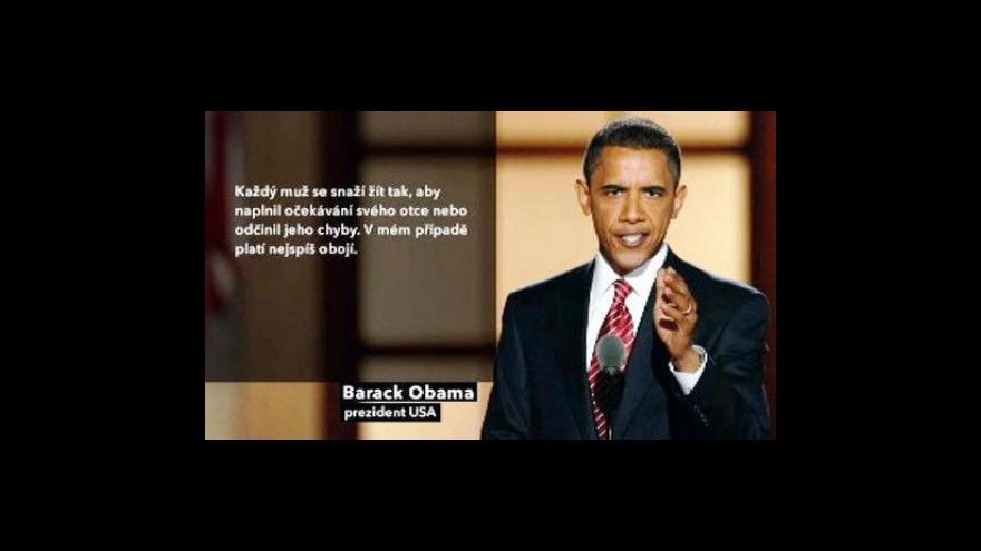 Video Profil Baracka Obamy