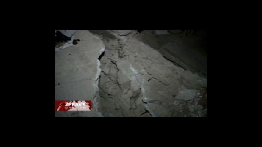 Video Mexiko zasáhly následné otřesy