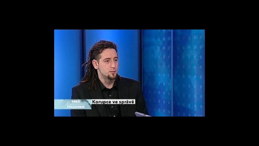 Video Martin Kameník z o.s. Oživení ve Studiu ČT24