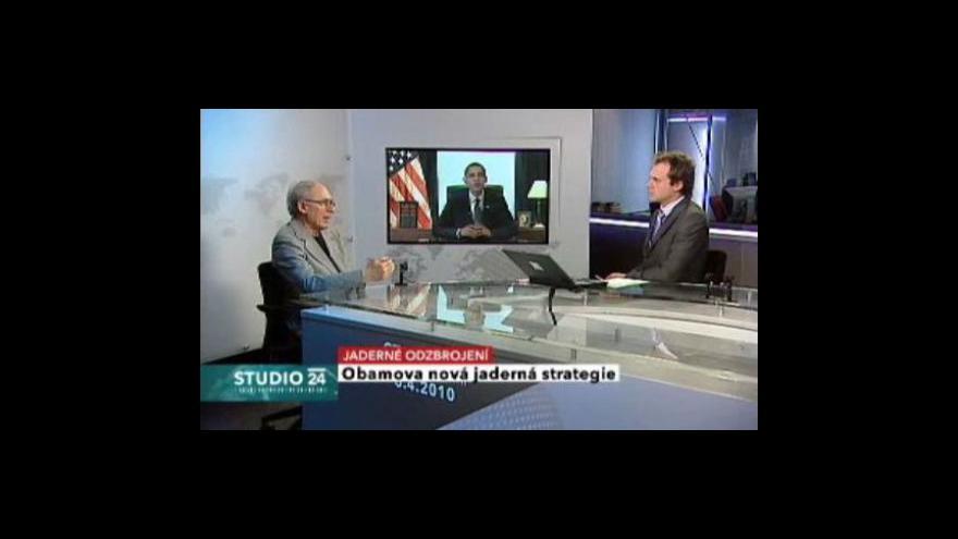 Video Studio ČT24: Obama oznámí novou jadernou strategii