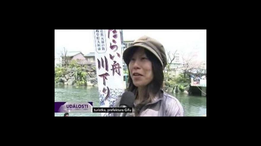 Video Japonské třešně i v USA