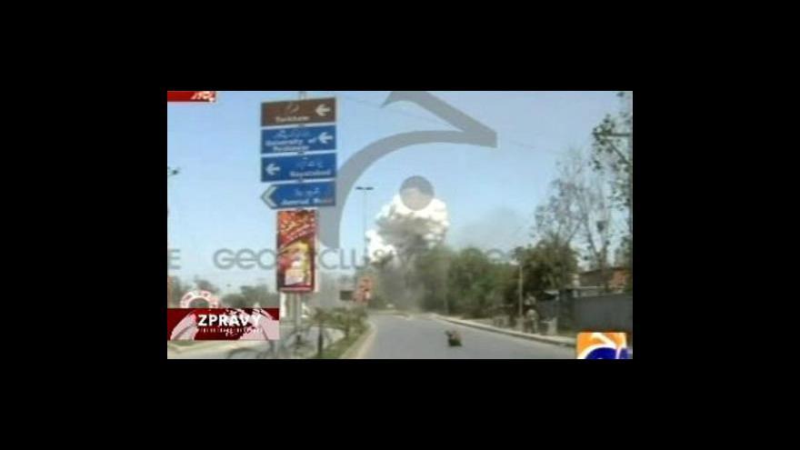Video Krvavý atentát v Pákistánu