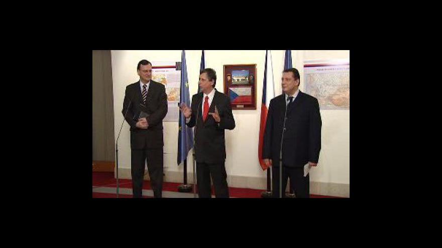 Video Paroubek chce zrušit post ministra pro EU