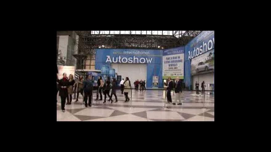 Video V New Yorku začne autosalon