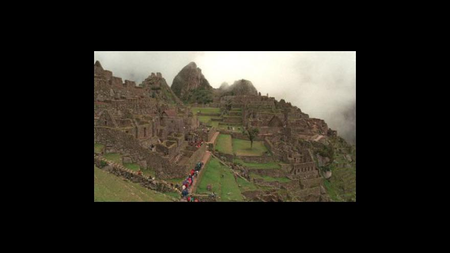 Video Na Machu Picchu už zase můžou turisté