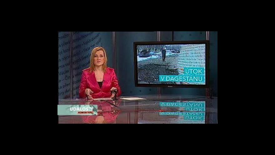 Video Události, komentáře o útoku v Dagestánu