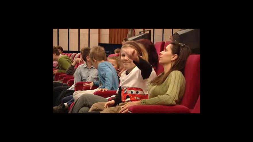 Video Děti zhlédly televizní předpremiéru Kozího příběhu