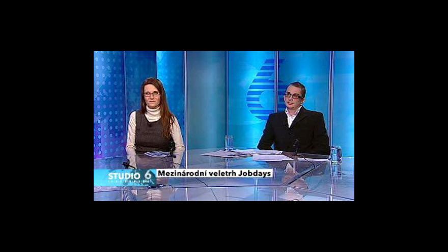 Video Veletrh Jobdays 2010 láká Čechy na práci v zahraničí