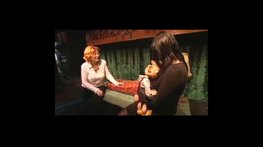 Video Z Divadla Spejbla a Hurvínka informuje Lenka Drmotová