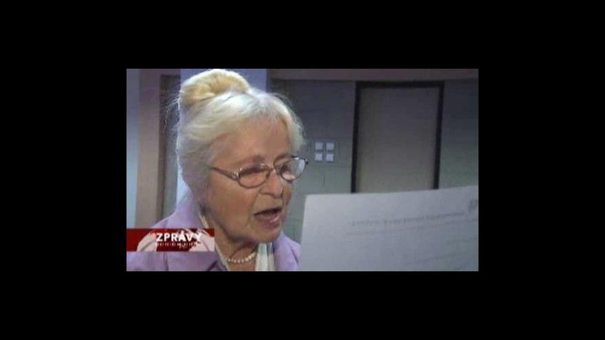 Video Dění okolo jednání rady ÚSTR