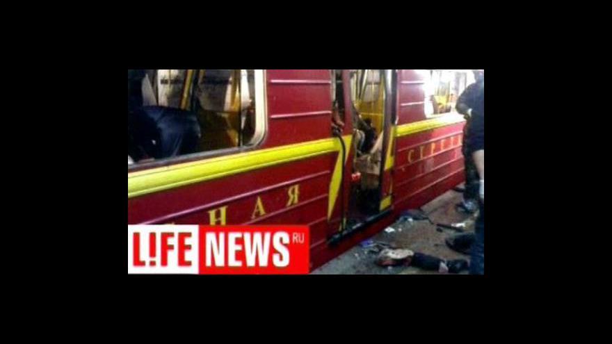Video V moskevském metru útočili teroristé