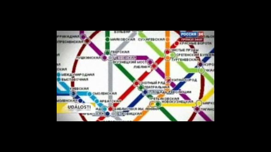 Video Moskva se vzpamatovává z útoků na metro