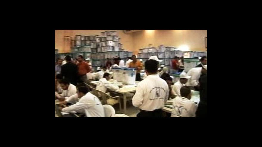 Video Volby v Iráku vyhrál Aláví