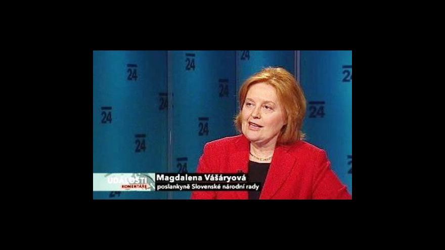 Video Rozhovor s Magdalenou Vášáryovou