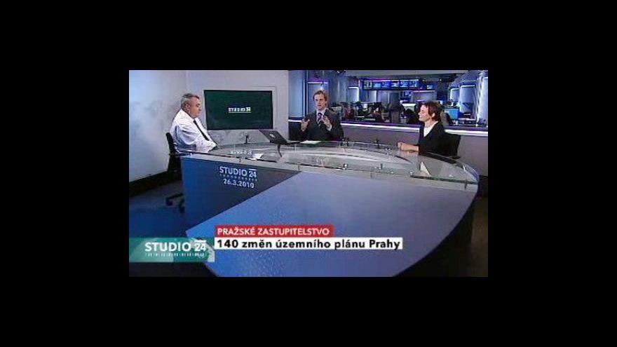 Video Diskuze o schválených změnách územního plánu