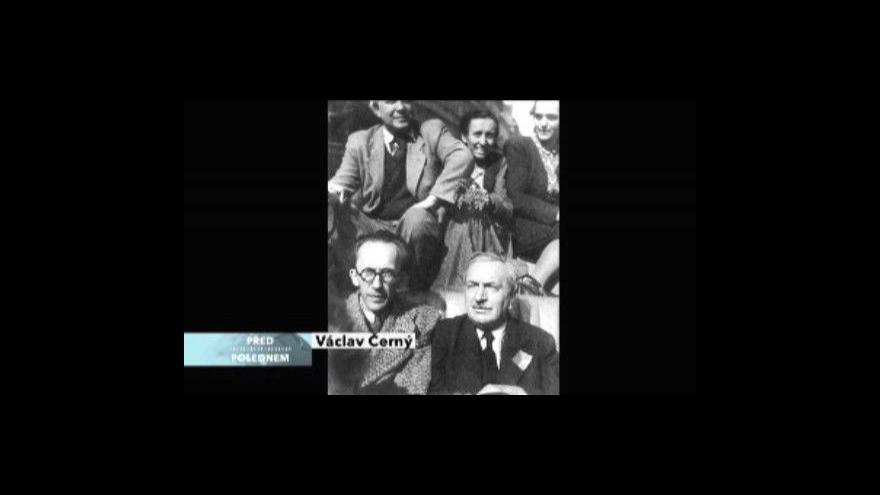 Video Na Václava Černého vzpomíná Milan Uhde