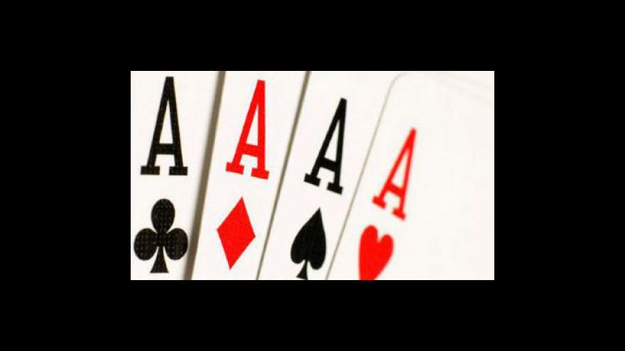 Video Ministerstvo financí chce zdanit poker