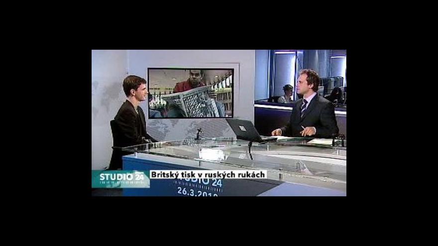 Video Ivan Kytka a Jan Müller ve Studiu ČT24