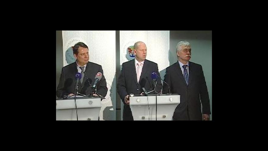 Video TK po jednání ČSSD a hospodářské komory