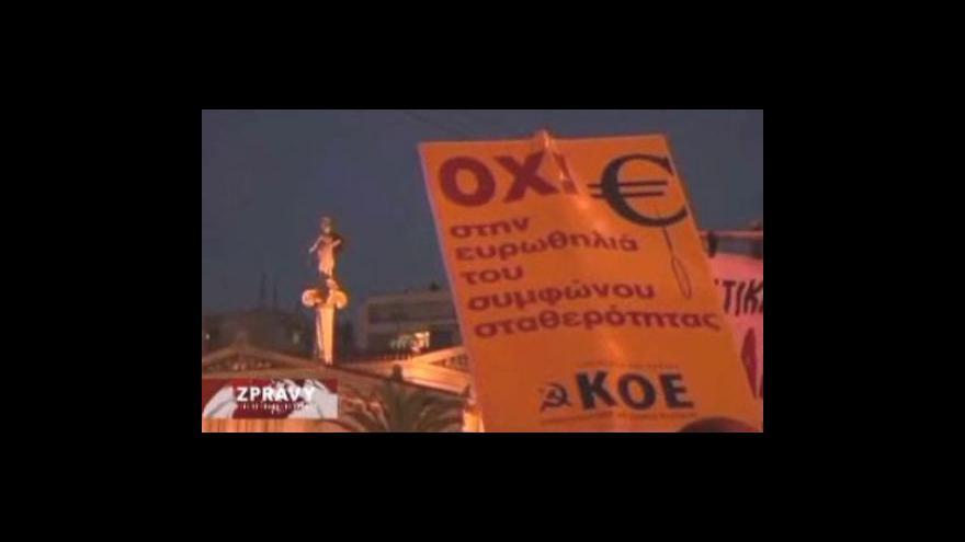 Video Pomoc Řecku ze strany eurozóny stále není jistá