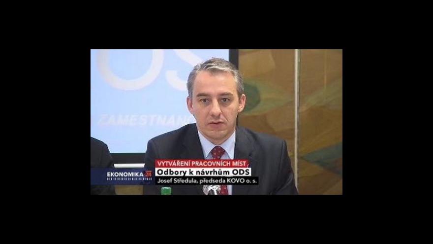 Video Odbory k návrhům ODS