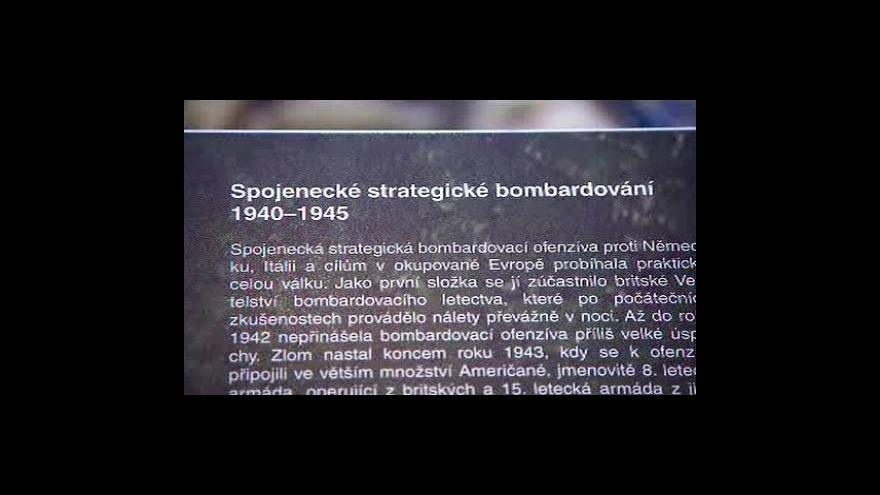 Video Studio ČT24 k výročí bombardování Prahy