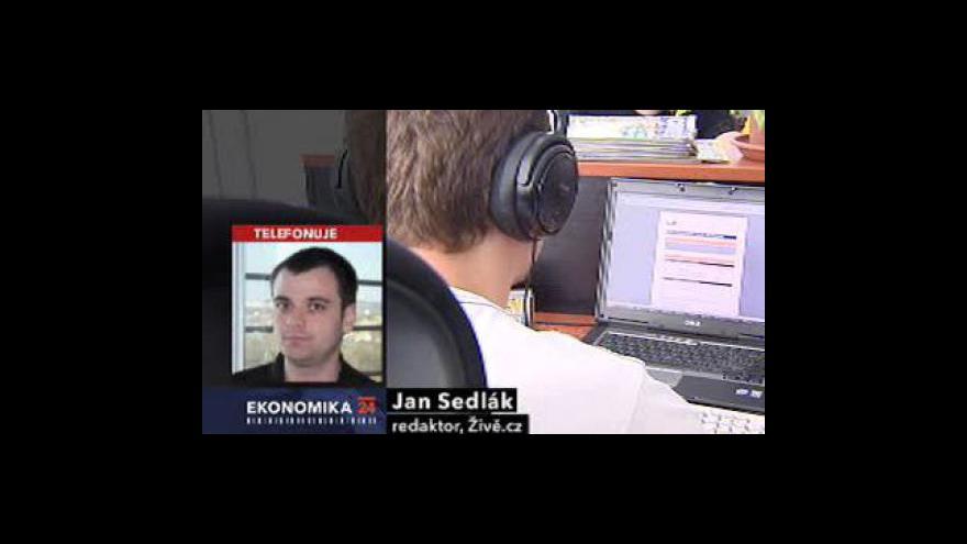 Video Telefonát Jana Sedláka