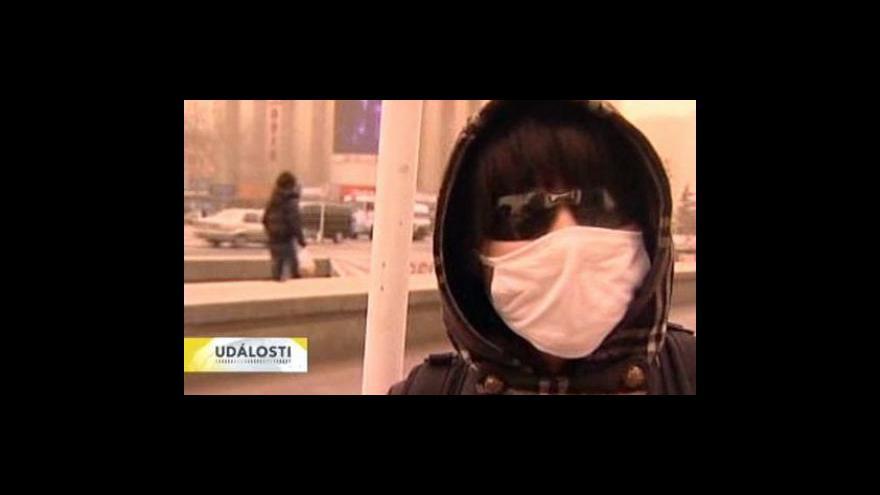 Video Peking zasáhla písečná bouře