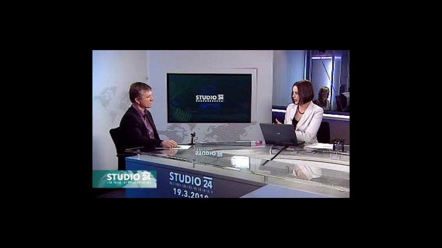 Video Zdeněk Zajíček ve Studiu ČT24