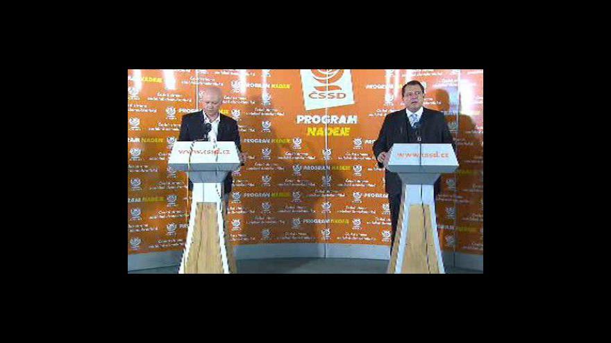 Video Brífink Jiřího Paroubka a Ivana Haška o sportu
