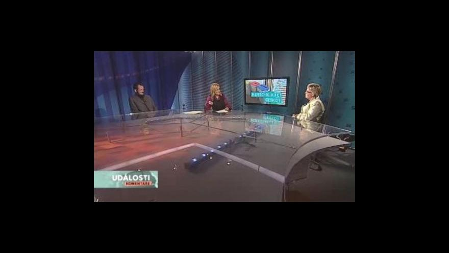 Video Eva Tylová a Pavel Novák v Událostech, komentářích