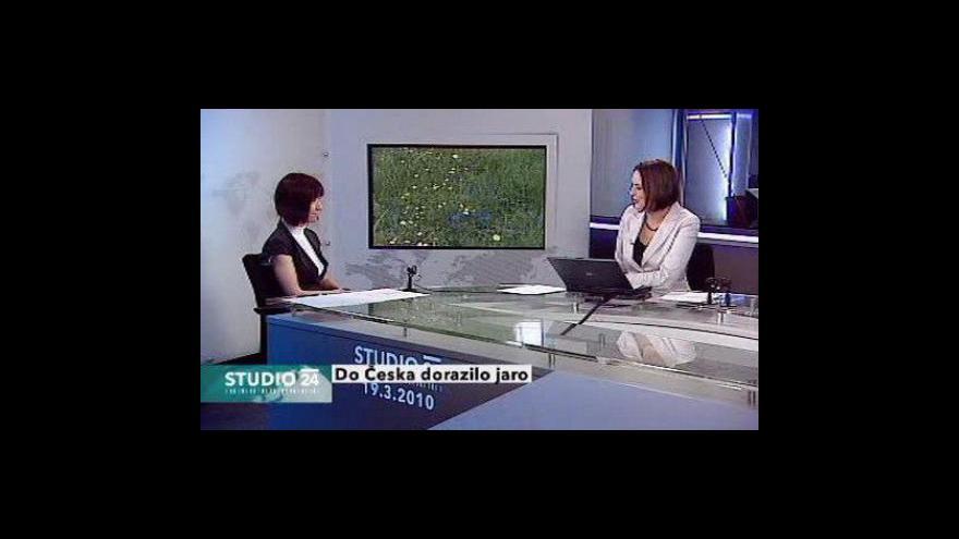 Video Rozhovor s meteoroložkou ČT Marií Odstrčilovou