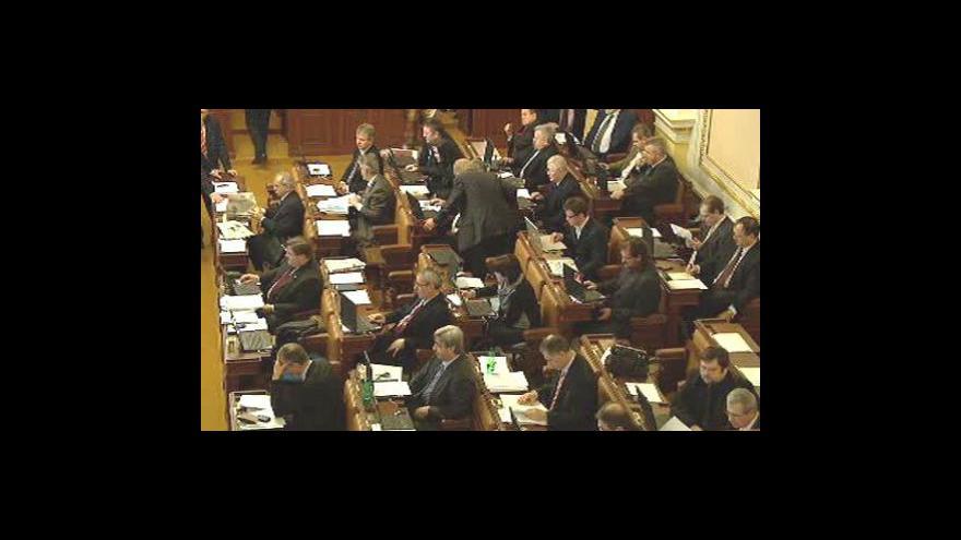 Video ODS slaví, obstrukcemi zabránila navýšení schodku rozpočtu