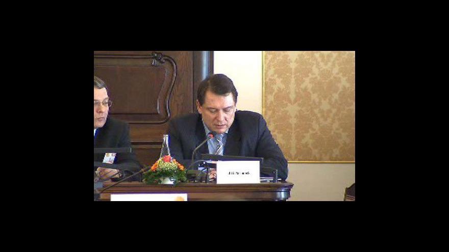 Video Jiří Paroubek na konferenci o EU a USA