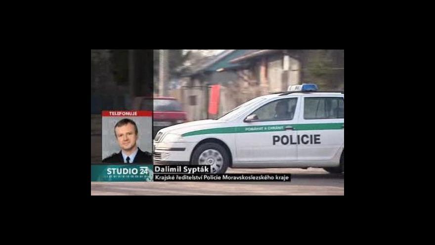 Video Kriminalista Dalimil Sypták ve Studiu ČT24