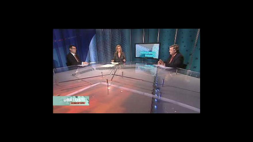 Video Jaroslav Krákora a Boris Šťastný v Událostech, komentářích