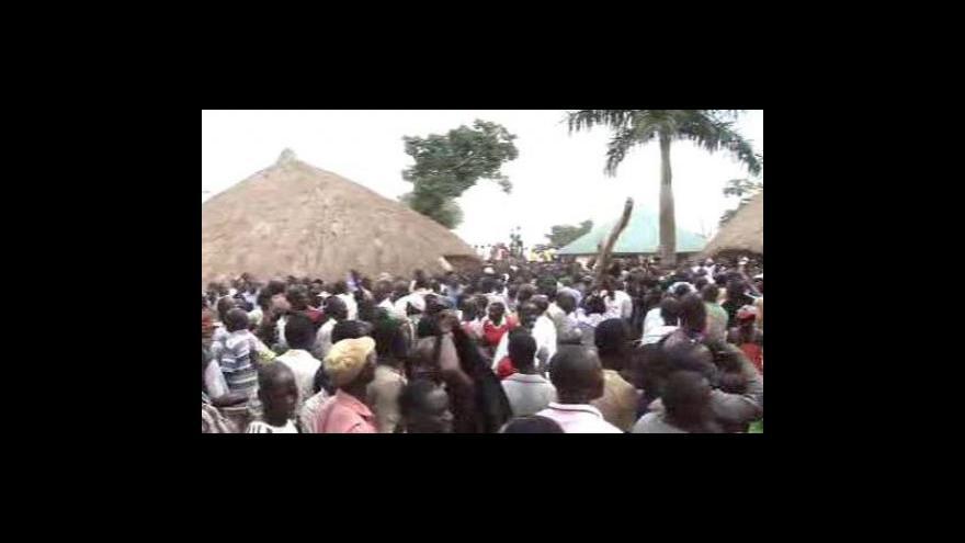 Video Požár královských hrobek