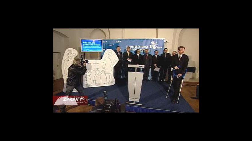 Video ODS se po volbách popere s nezaměstnaností